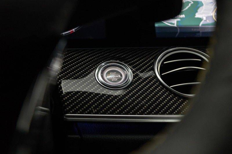 "Mercedes-Benz E-Klasse E63s AMG EDITION 1 4Matic 612pk (MAGNO MAT) Panoramadak Distronic Nightpakket Schaalstoelen Burmester Carbon ComandOnline Keyless 20"" Parktronic Pdc afbeelding 22"