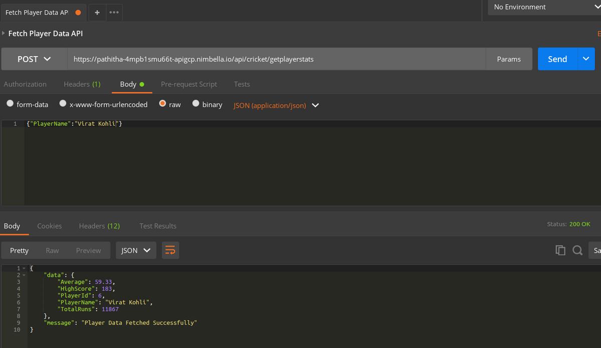 Access API using Postman 2