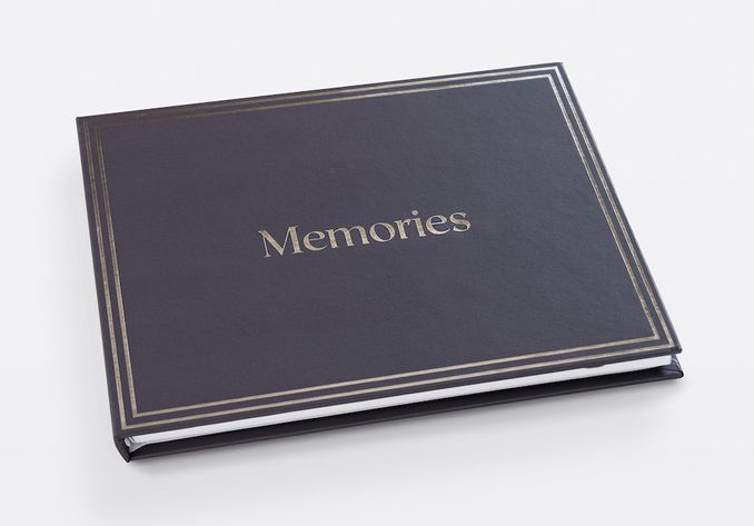 Heirloom book with memories cover