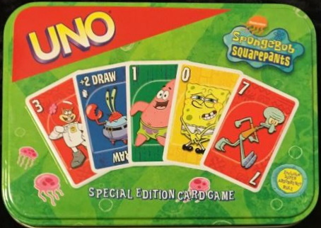 SpongeBob Squarepants Uno (2002)