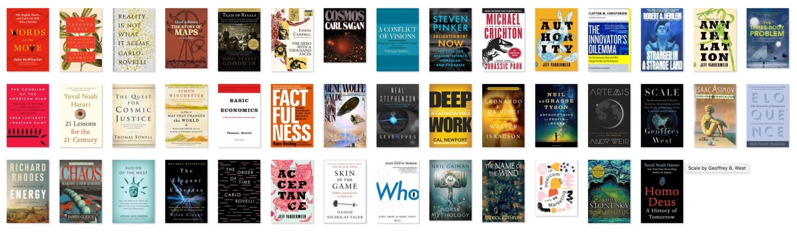Books of 2018