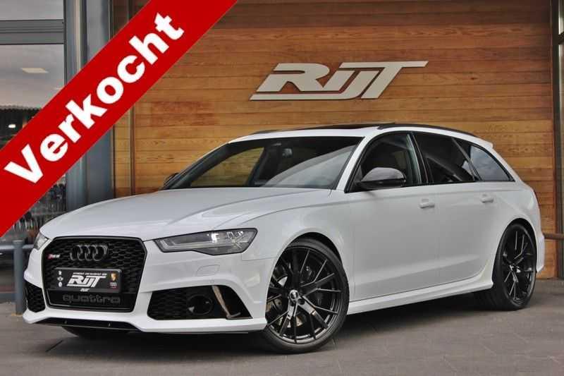 Audi RS6 4.0 V8 605pk Performance Quattro **Pan.dak/HUD/ACC/Camera/Carbon** afbeelding 25