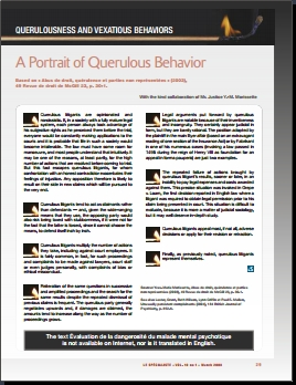 A Portrait of Querulous Behavior.