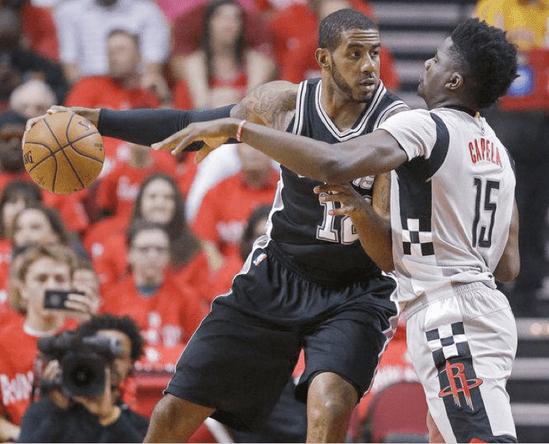 San Antonio Spurs - LaMarcus Aldridge