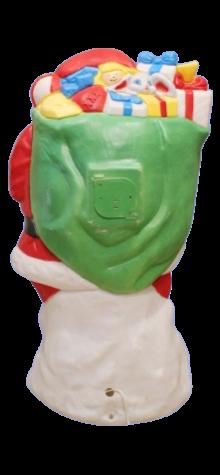 African American Santa Claus photo