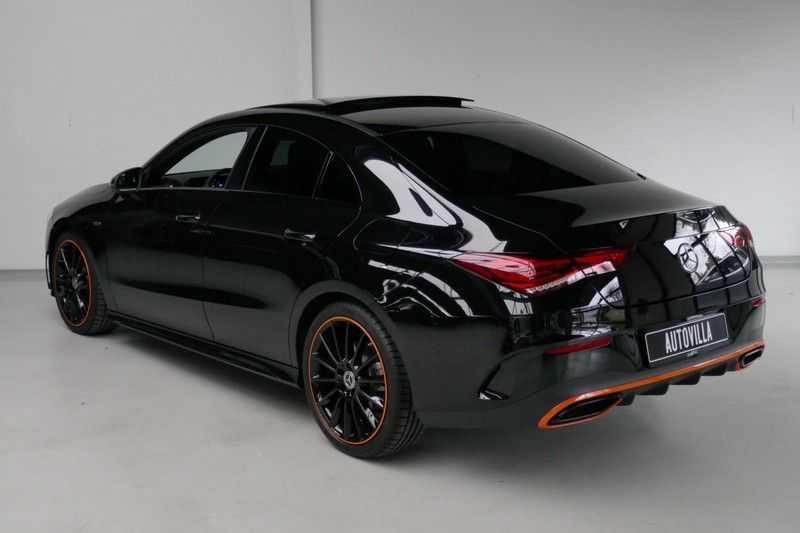 Mercedes-Benz CLA-Klasse 200 d /// AMG Edition 1 Nightpakket - Sfeer verlichting afbeelding 5
