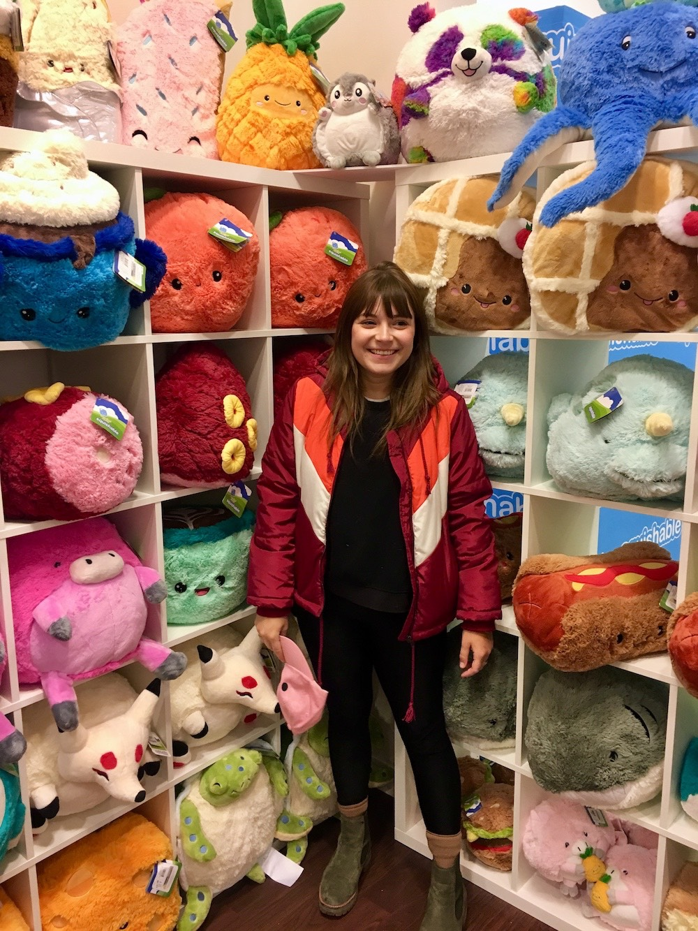 Casey at Squishable.
