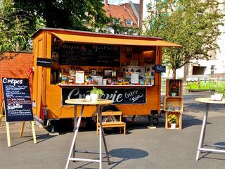 mobile Creperie, Foodtruck für Businesscaterings auf Events und Caterings bei Köln