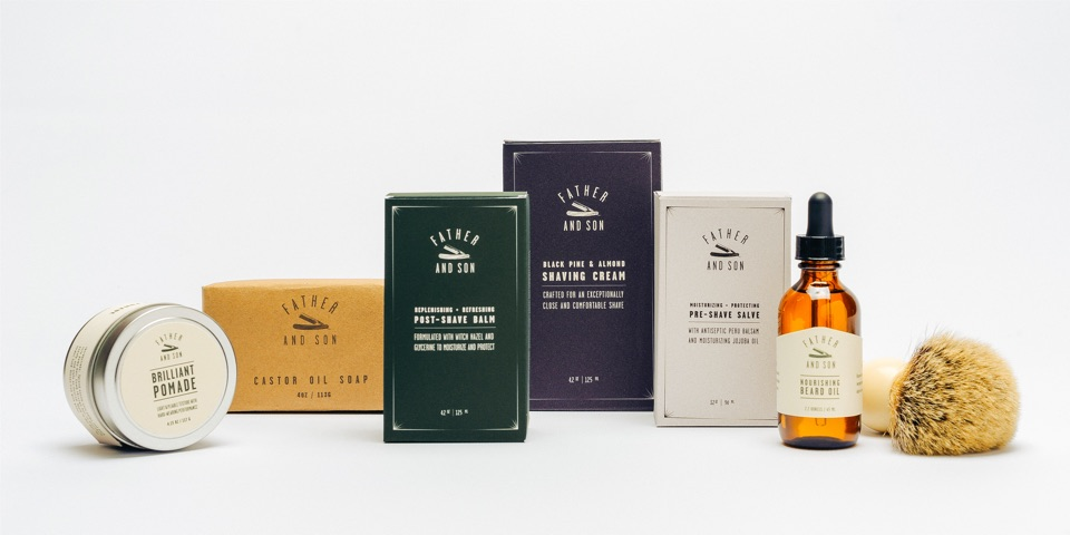 Father & Son package design concepts