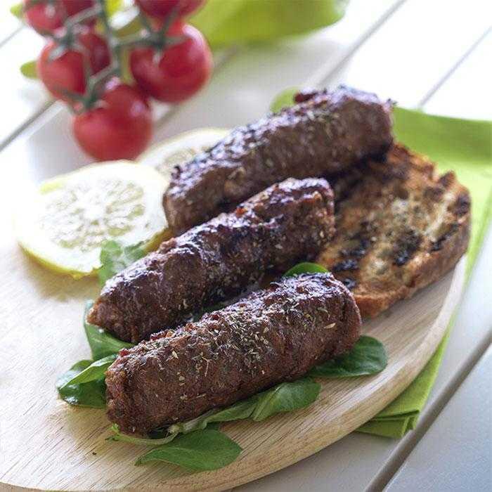 Soutzoukakia à la viande grecque de buffle - 480g