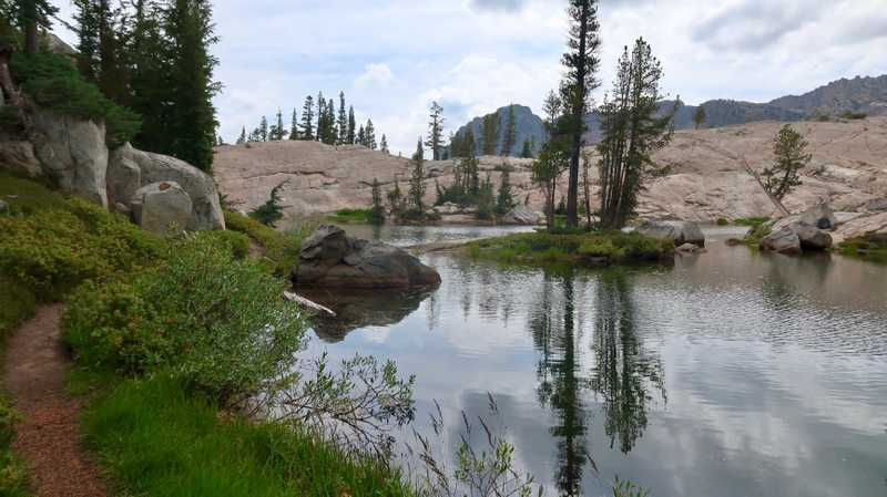 A pond in Yosemite National Park