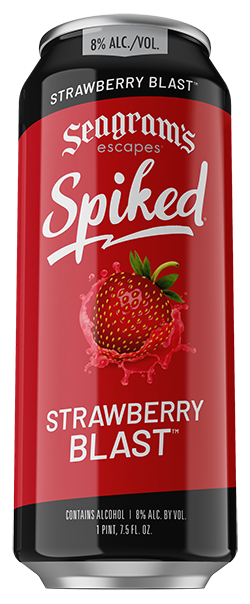 Spiked Strawberry Blast