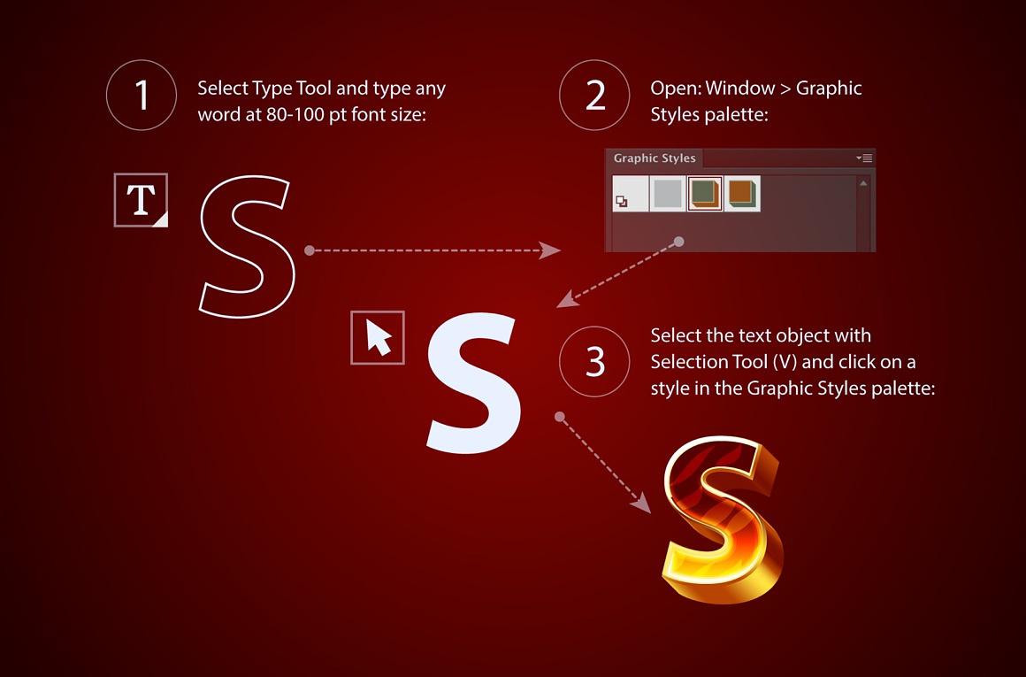 Firecraft Adobe Illustrator Styles images/firecraft_4_tutorial.jpg
