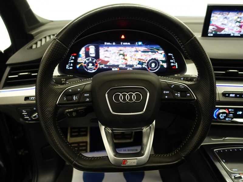 Audi Q7 3.0 TDI (SQ7) 300PK Quattro S-Line 7pers Autom- Pano, Virtual Cockpit, Bose, Head-up, Full! afbeelding 8
