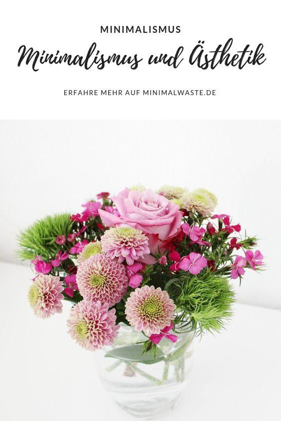 Pinterest Cover zu 'Von Minimalismus und Ästhetik'
