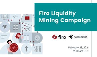 Launching Firo liquidity mining campaign