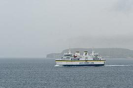 ferry from Cirkewwa to Gozo, Malta, near Comino Island, 2019
