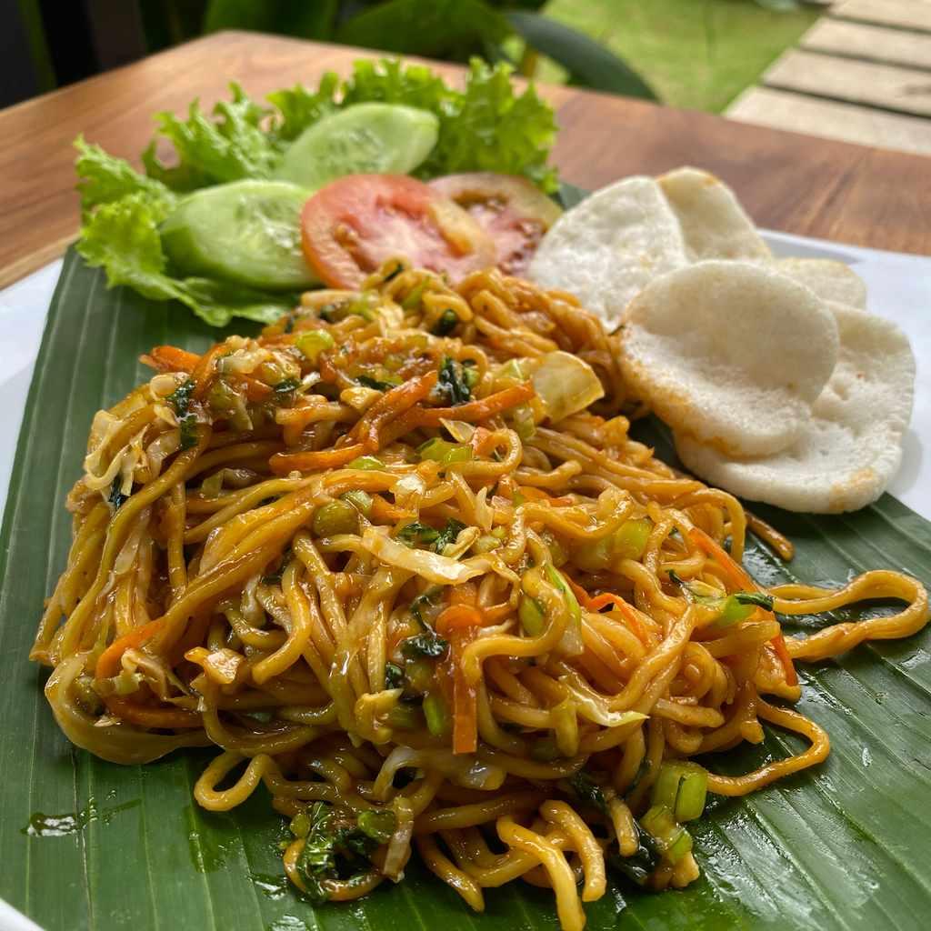 indonesian: mie goreng sayur