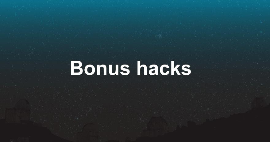 9_Bonus_Hacks