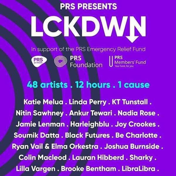 @prsformusic LCKDWN festival this weekend! Catch @harleighblu on at 1pm this Friday and @glowexx 3pm!