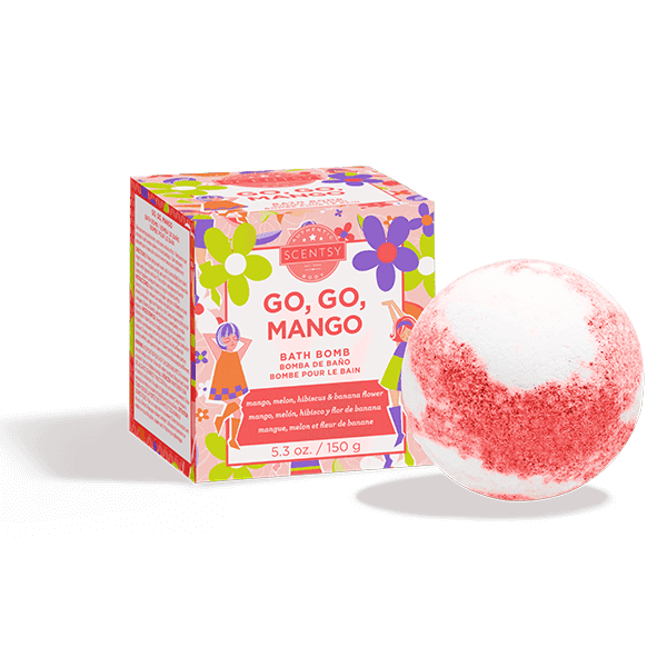 Picture of Go, Go, Mango Bath Bomb