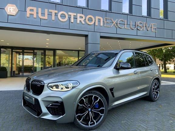 BMW X3 M Competition M-drivers Package + Carbon Inleg + Stoelverwarming/koeling + Head Up + Adaptive Cruise Control + Tarufo Leder + Draadloos Apple CarPlay