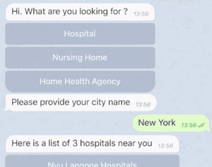 The Medicare Locator is a Rasa demo assistant that locates healthcare providers
