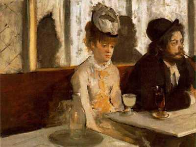 Degas' The Absinthe Drinker