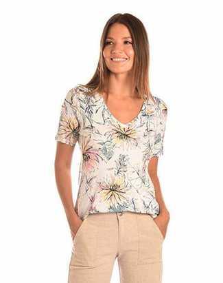 Brenda Beddome V Neck T-Shirt