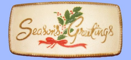 Season's Greetings Plaque photo