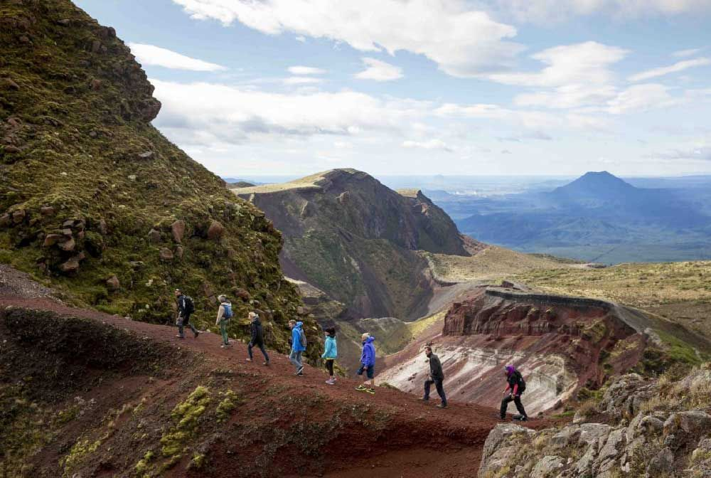 Mt Tarawera Hike