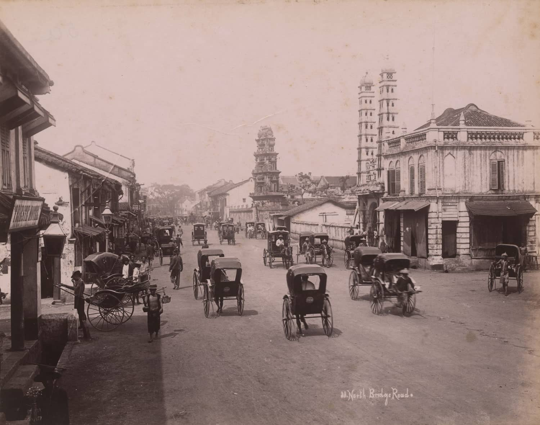 South Bridge Road, 1890s