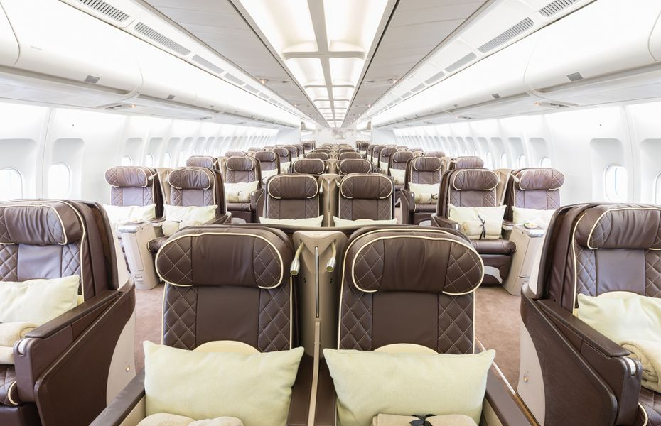 VIP airliner cabin