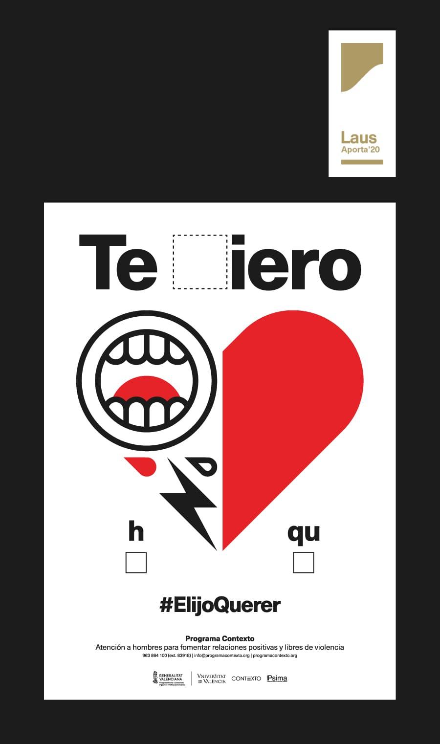 Imagen #ELIJOQUERER #TRIESTIMAR galardonada en los prestigiosos premios Laus del diseño