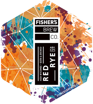 Fisher's Red Rye pump clip