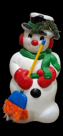 Fiber Optic Snowman photo