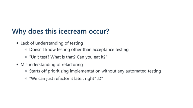 how can we improve the testability 15