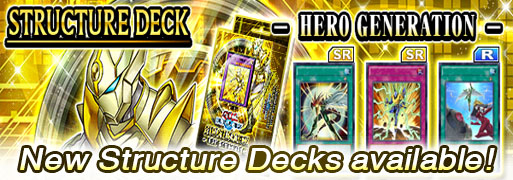 New Structure Deck: HERO Generation | YuGiOh! Duel Links Meta