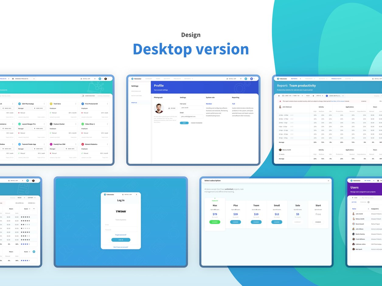 Mobile User Interface Design - UX Design | Tahometer