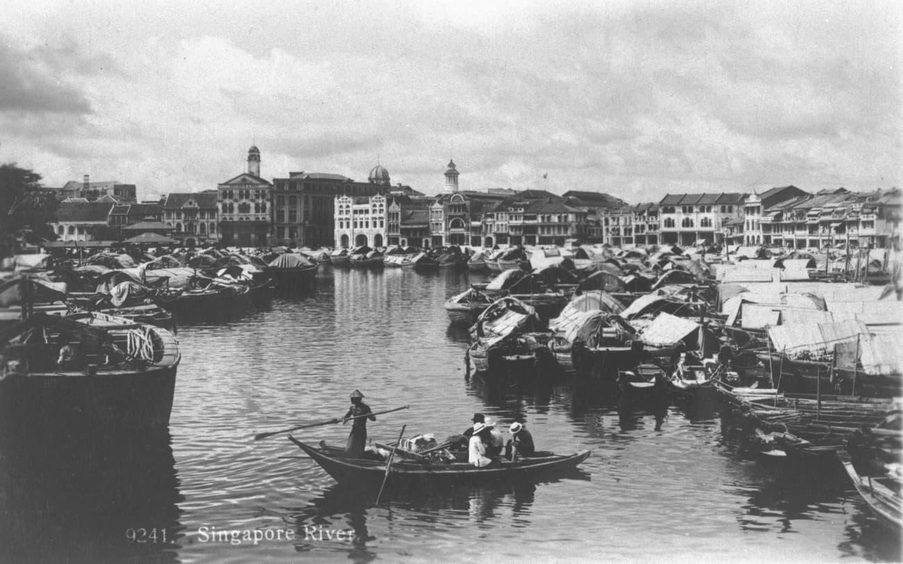 Singapore River, 1924
