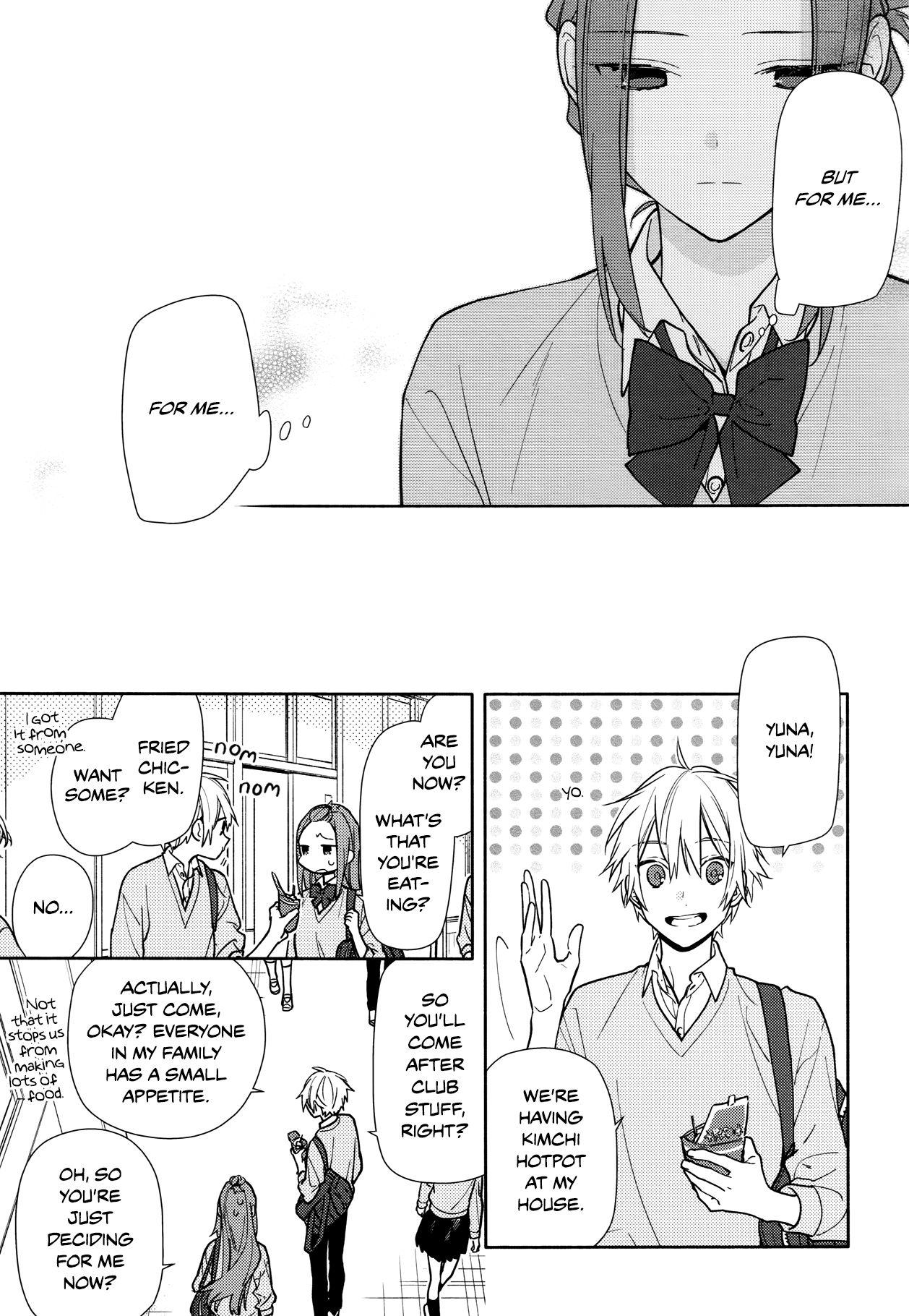 Horimiya, Chapter 120 Page 15