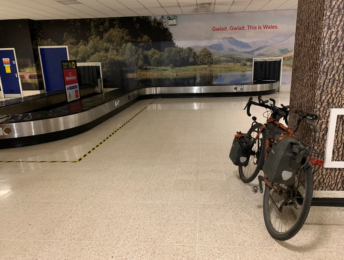 My bike sat in a ferry waiting area and thankfully none stole it