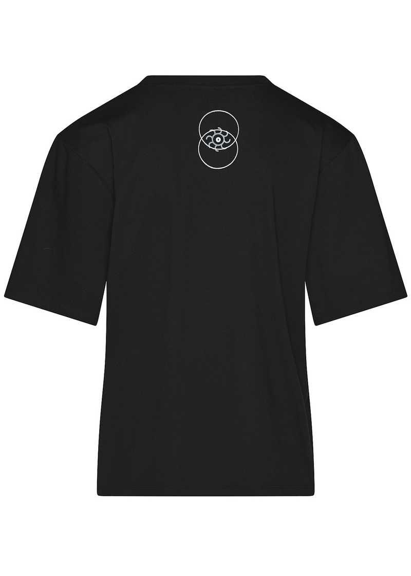 BIRK t-shirt black unisex. GmbH Spring/Summer 2021 'RITUALS OF RESISTANCE'