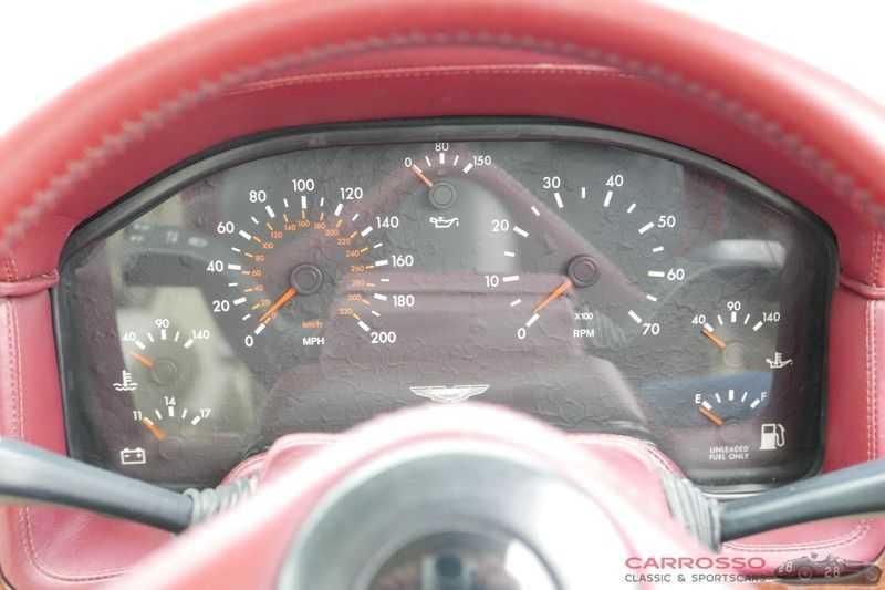 Aston Martin Virage 5.3 V8 RHD 1 Of 411 afbeelding 22