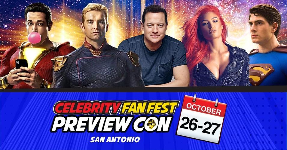 Celebrity Fan Fest Preview Con banner