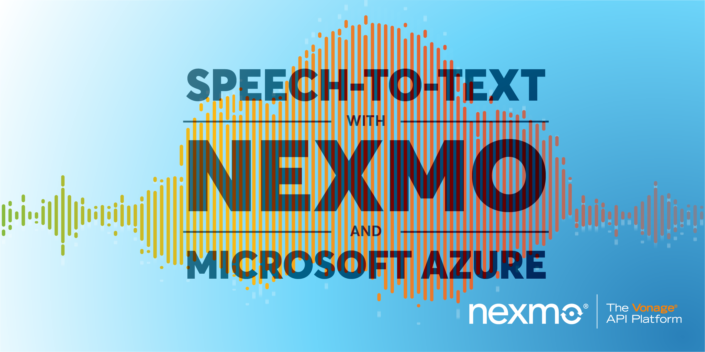 Speech-To-Text with Nexmo and Microsoft Azure