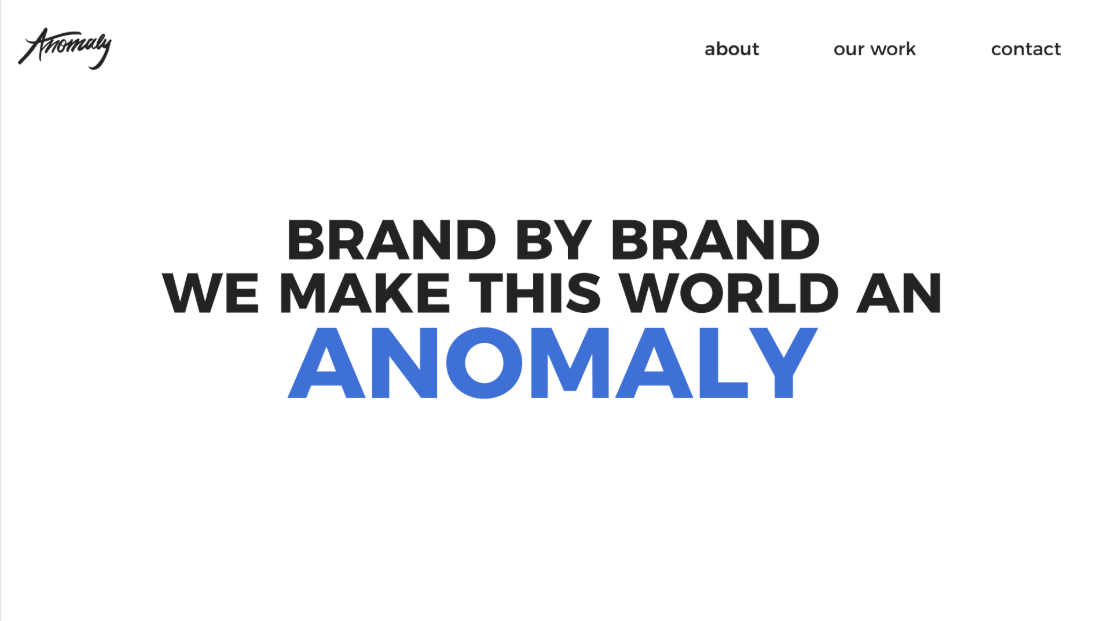 Anomaly Creative