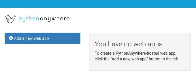 python web app