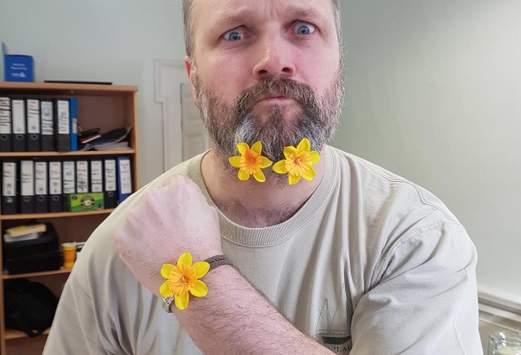 promozoo staff member daffodil day