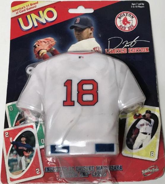 Boston Red Sox Uno: Daisuke Matsuzaka